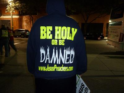 Josh Hoodie Back Eternal Evangelism