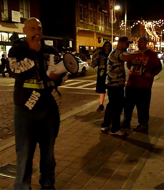 Ybor City Preaching Eternal Evangelism