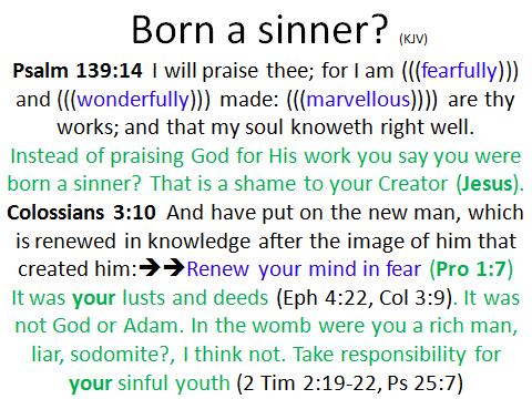 Born a sinner 2