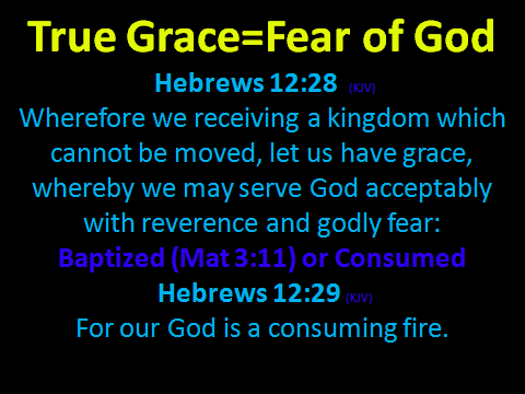 Grace and Fear
