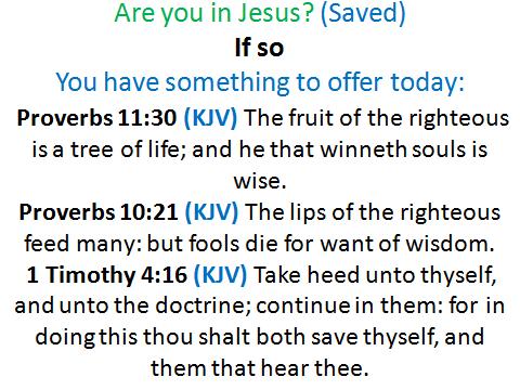 working in Jesus