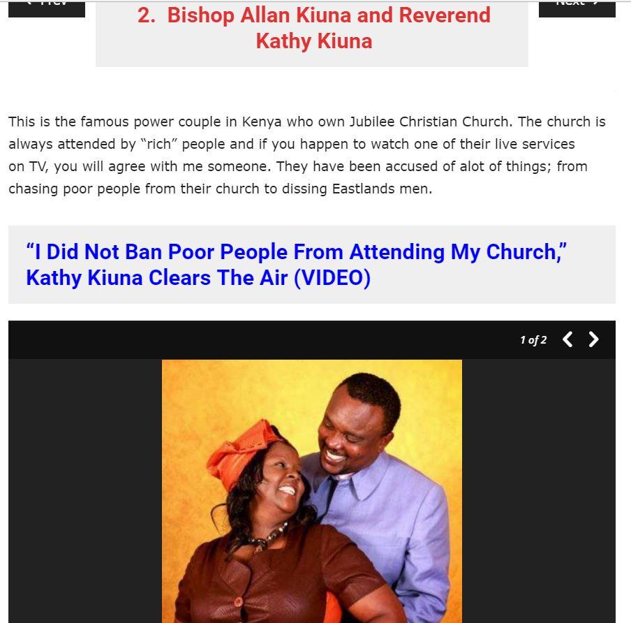 Allan and Kathy Kiuna of Jubilee Christian Church ho333