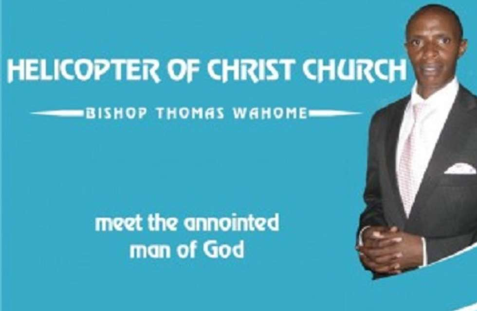 BiThomas Wahome-Helicopter church