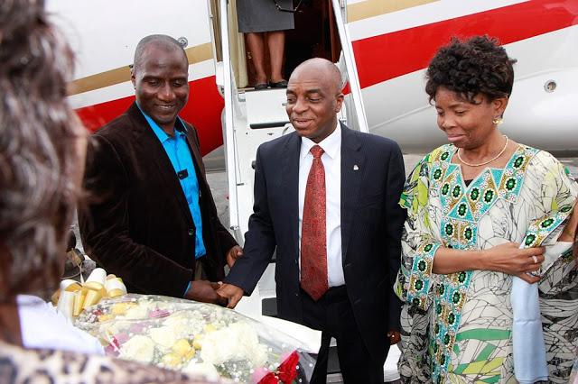 Billionaire Nigerian Pastor David Oyedepo plane 10
