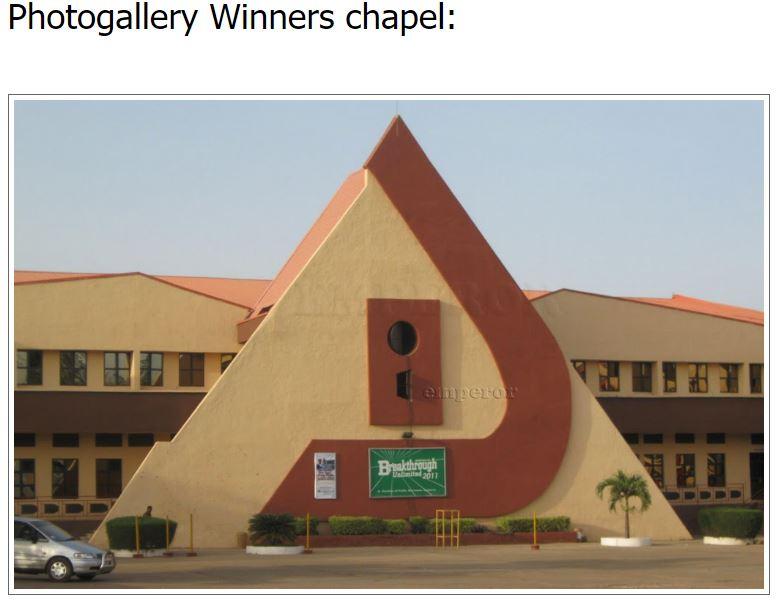 David Abioye of Winners Chapel sicko