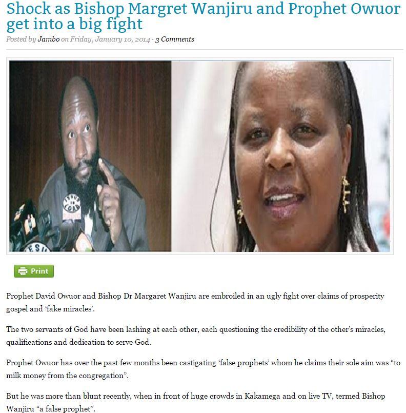 Margaret Wanjiru-Jesus is alive ministry