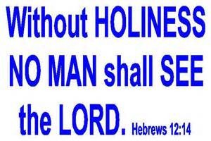 holiness Lord
