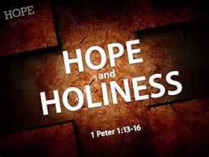 hope holiness