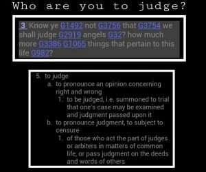 judge ;life