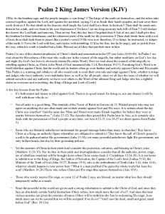 thumbnail of Psalm 2 Study Tract KJV