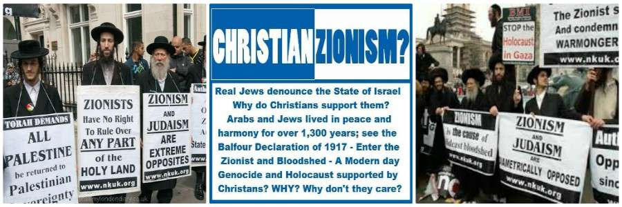 zionism banner israel war crimes