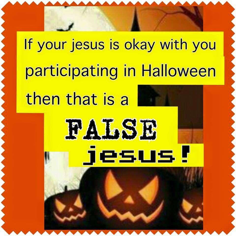 Eternal Evangelism » Halloween or Jesus?!?! You can't have both!