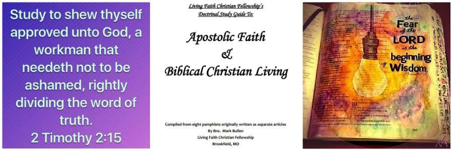 Christian Study Guide