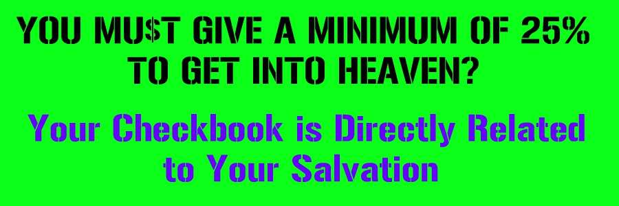 how to tithe Christian