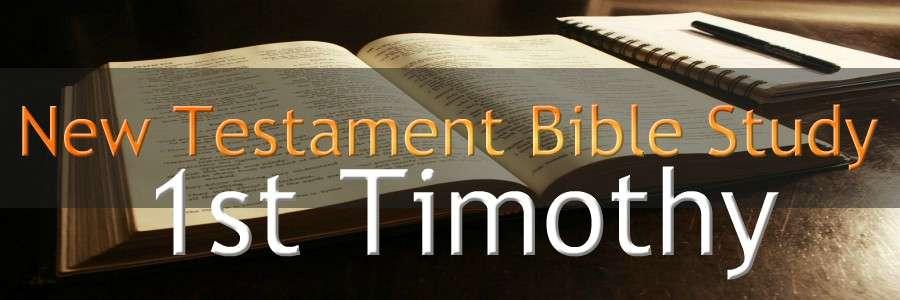 1ST TIMOTHY NEW TESTAMENT BIBLE STUDY BANNER 300X900