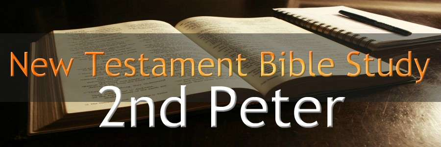 2nd Peter NEW TESTAMENT BIBLE STUDY BANNER 300X900