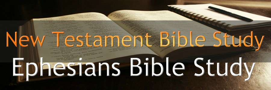 Ephesians NEW TESTAMENT BIBLE STUDY BANNER 300X900