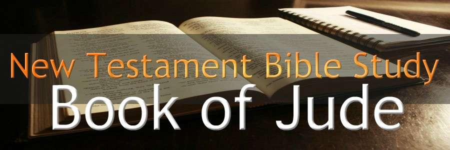 JUDE NEW TESTAMENT BIBLE STUDY BANNER epistle