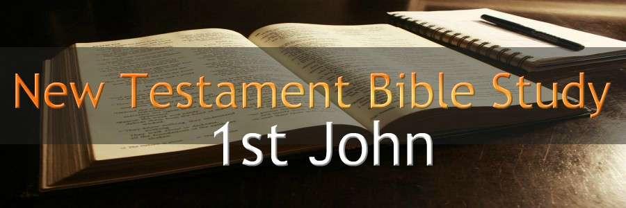 NEW TESTAMENT BIBLE STUDY BANNER 1st John 300X900