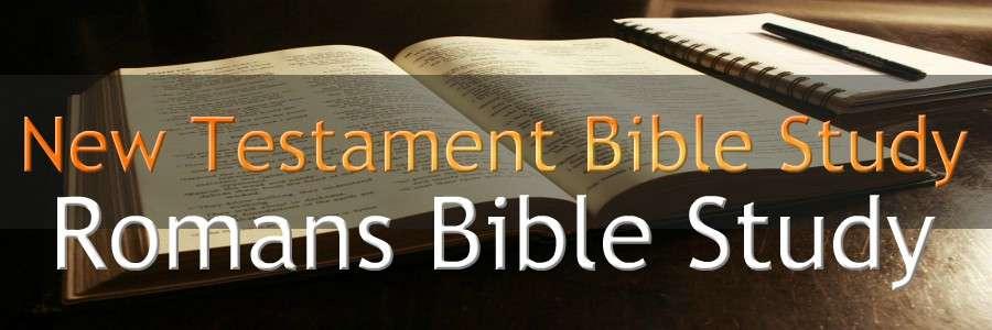 ROMANS NEW TESTAMENT BIBLE STUDY BANNER 300X900