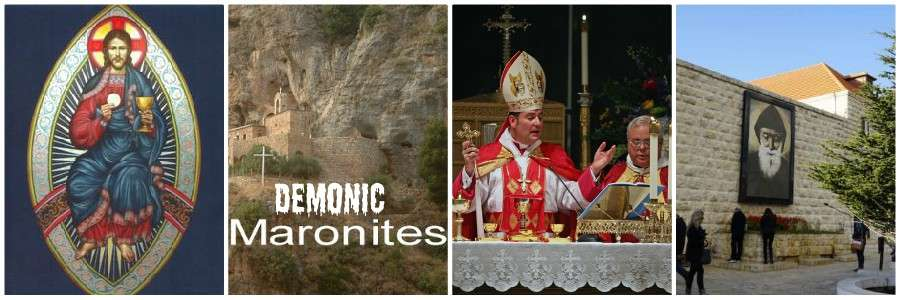 demonic chants maronites catholic demons banner